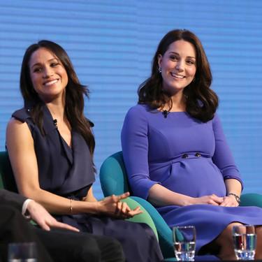 Duelo de estilos entre Kate Middleton y Meghan Markle en su primer acto oficial juntas