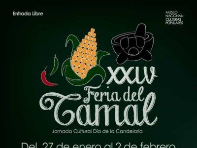 Este fin de semana, no te pierdas la XXIV Feria del Tamal en Coyoacán