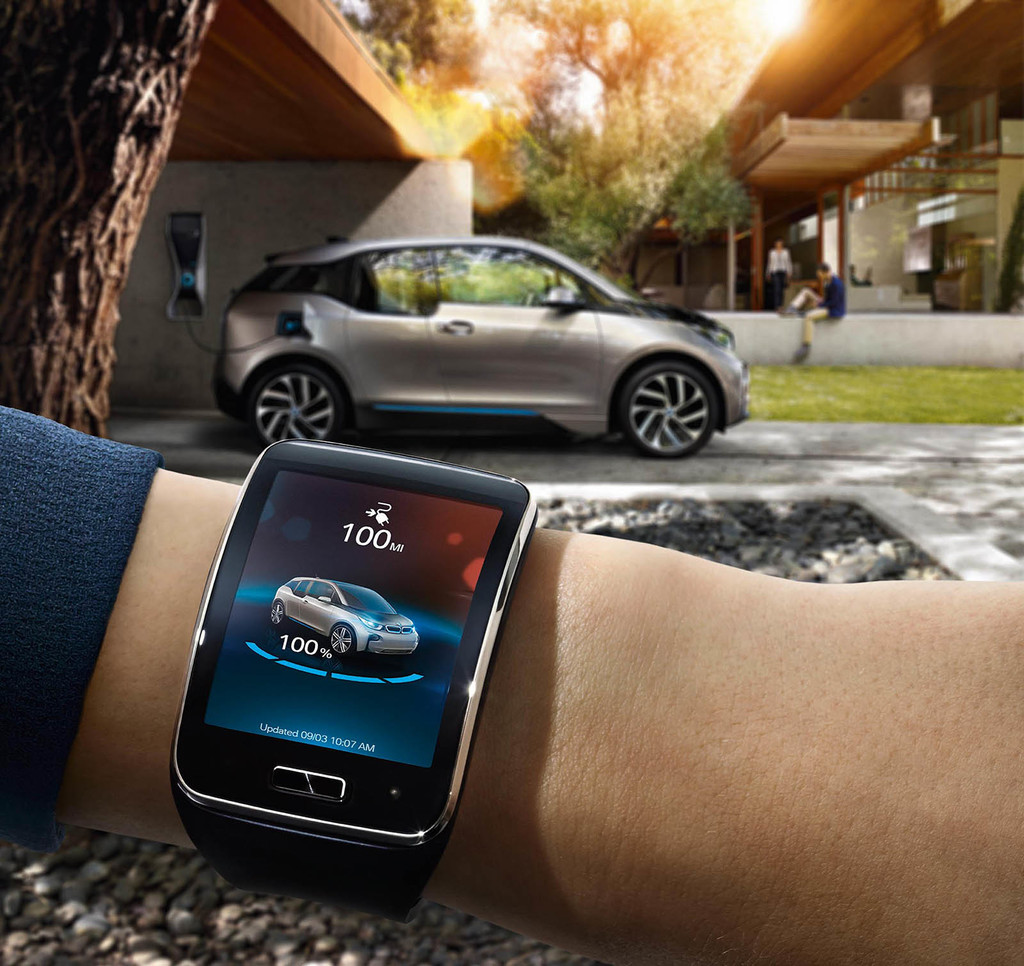 app coches wearable bmw