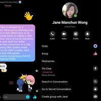 Facebook Messenger se viste de negro con su tema oscuro, ya en pruebas