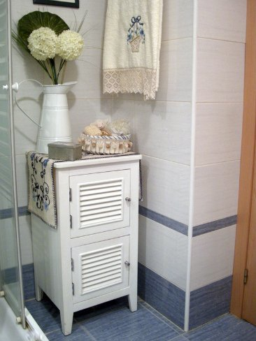 Mueble del baño de Lorena.