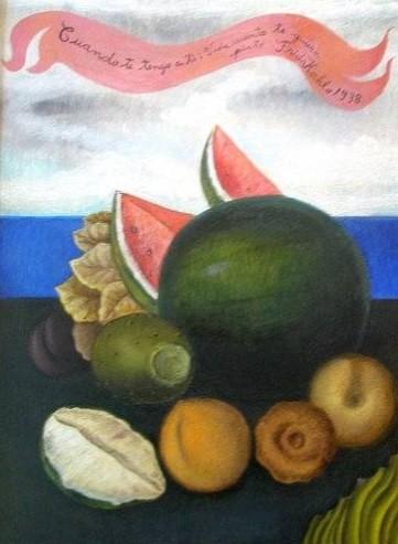 Pinturas Frida Kahlo Inspiradas En Comida Y Sus Frases Mas Inspiradoras Vida