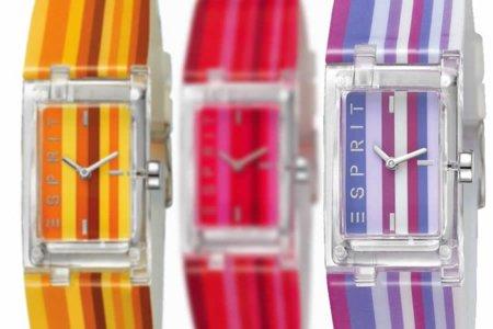 Relojes ESPRIT para el verano 2011: la hora a rayas