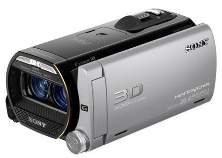 Sony Handycam HDR-TD20V continúa con el 3D