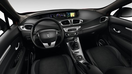 Renault Scénic XMOD 2013, vista interior