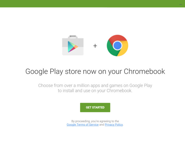 Google Play Chrome℗ Os