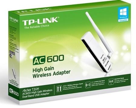 TP-LINK Archer T2UH, érase un adaptador WiFi AC a una antena pegado