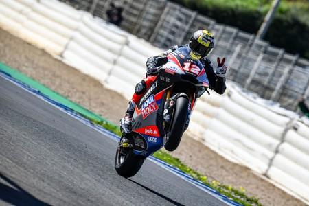 Thomas Luthi y Ai Ogura cierran la semana de test de Moto2 y Moto3 en Jerez con los mejores tiempos