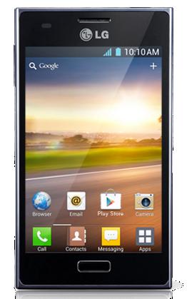 LG Optimus L5 pantalla