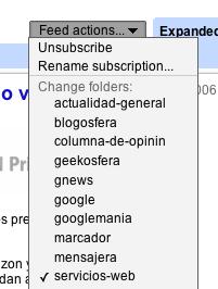 Google Reader añade nuevas funciones en los feeds