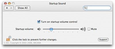 Ajuste del sonido de arranque del Mac