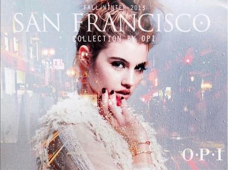 Si vas a San Francisco no olvides la nueva colección de OPI en casa