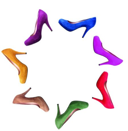 Bolsos y zapatos de colores Gloria Ortiz primavera-verano 2011