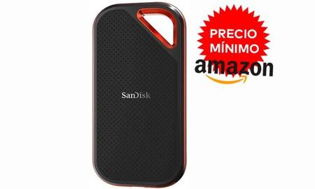 Los 500 GB en formato SSD portable del SanDisk Extreme Pro Portable SSD ahora, en Amazon, alcanzan precio mínimo y se quedan en sólo 122,82 euros