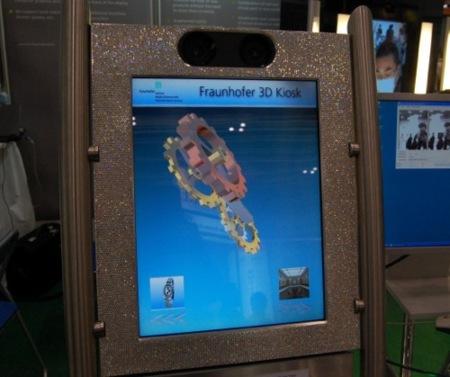 El Instituto Fraunhofer también propone un sistema de 3D