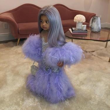 Solo la hija de Kylie Jenner se podía disfrazar de su propia madre en la Gala del MET 2019 para celebrar Halloween