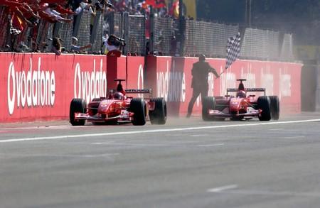 Schumacher Monza F1 2002