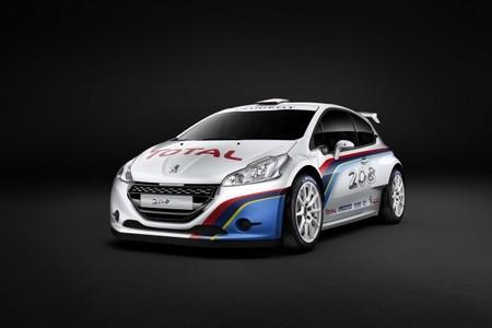 Las fotos oficiales del Peugeot 208 R5 y el Hyundai i20 WRC