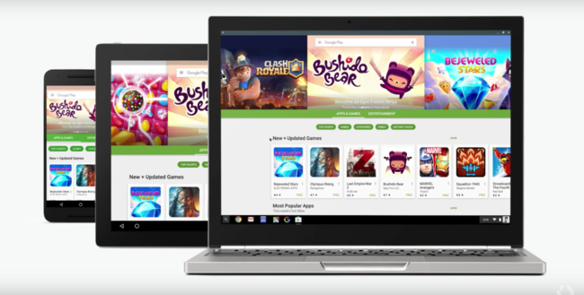 Chrome Os, Android