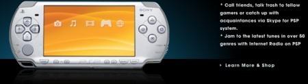 PSP con Skype en el CES 2008