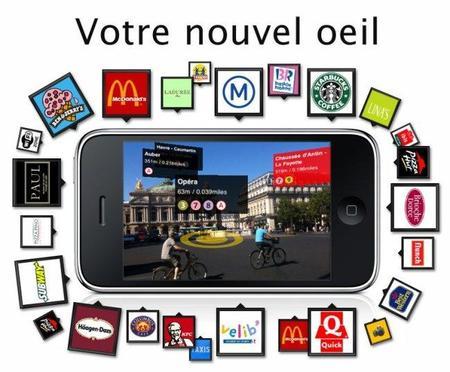 Métro Paris: aplicación para el iPhone con realidad aumentada