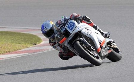 Eugene Laverty en Kyalami 2010