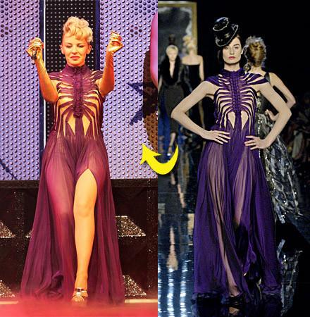 Jean Paul Gaultier viste la gira de Kylie Minogue