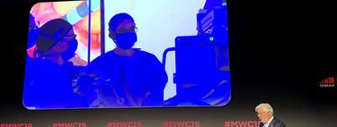 Asistimos a la primera intervención quirúrgica teleasistida con 5G: el médico en el MWC y el paciente en el hospital