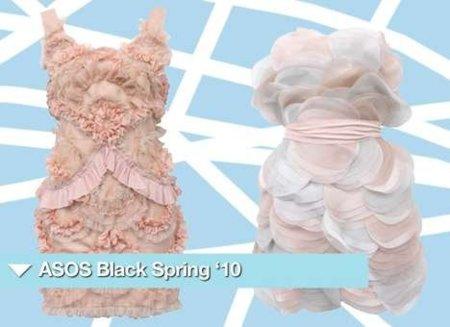 Colección Black de Asos, vestidos low cost para brillar en una boda