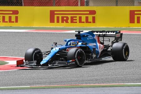 Alonso Sakhir F1 2021