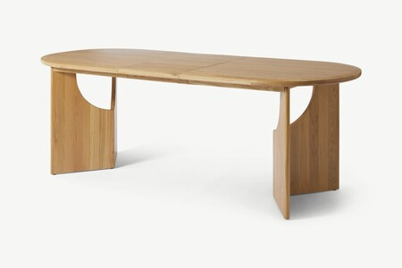 D9dc449b786447cff3edc091d7c9d0b06e3940d2 Tblmek005zok Uk Mekkin 6 8 Seat Extending Dining Table Oak Ar3 2 Lb01 Ps