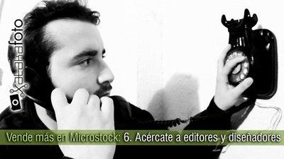 Vende más en Microstock: 6. Acércate a diseñadores y editores
