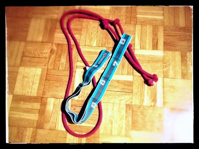 Cuerda-goma-elástica
