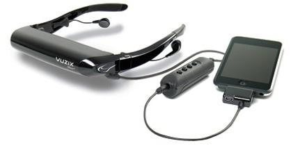 Vuzix iWear AV320XL y AV310, gafas para ver vídeo