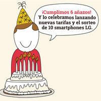 Lowi celebra su cumpleaños con nuevas tarifas móviles de contrato, ahora desde 8 GB por 7,95 euros