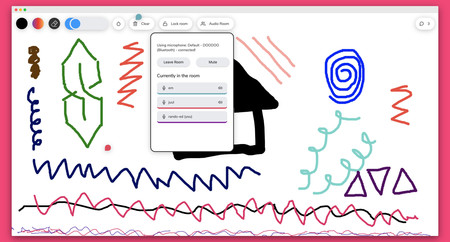 Dibuja, chatea y habla con tus amigos en este juego para el navegador que tiene una sola regla