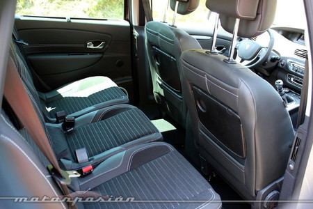 Interior Renault Scénic XMOD