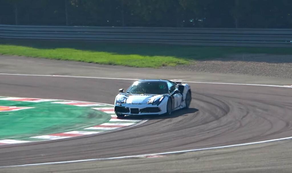 Así de rabioso suena el prototipo Ferrari V6 híbrido en este vídeo