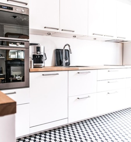 Royal Roulotte Levallois Renovation Decoration Cement Tiles Kitchen 04