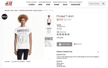 Rock T Shirts H M
