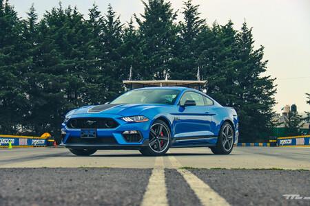 Ford Mustang Mach 1 2021 Prueba De Manejo Opiniones Resena Mexico 10