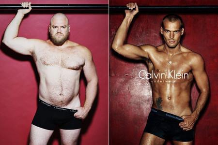 Imitación de Calvin Klein