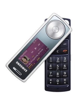 Samsung SGH-F210, con teclado giratorio