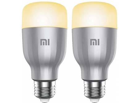 Bombilla Xiaomi Led Smart Bulb Pack De 2 4000k 800 Lm Blanco Y Color