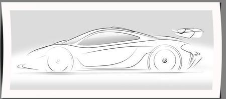 Teaser del McLaren P1 GTR, el híbrido más salvaje del mundo, con 1.000 CV