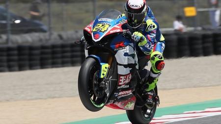 Toni Elías seguirá pilotando para Suzuki en MotoAmerica tras su fichaje por el Team Hammer