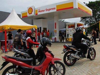 Shell inaugura la primera gasolinera exclusiva para motos
