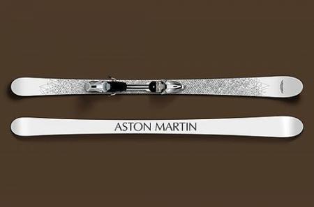 Skis de Aston Martin
