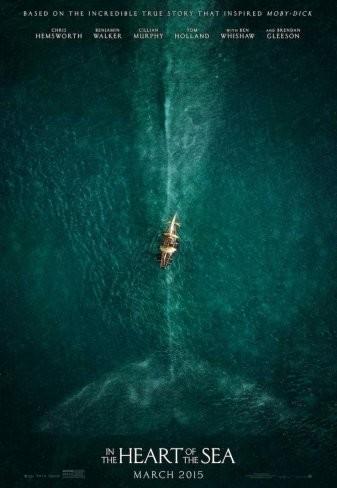 'En el corazón del mar', teaser tráiler y cartel de lo nuevo de Ron Howard