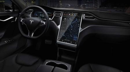 Tesla Model S Interior Negro